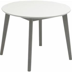 NIEHOFF SITZMÖBEL Esstisch »SOHO«, Gestell in Buche grau oder Wildeiche, rund