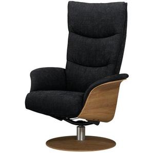 Relaxsessel  Stian ¦ schwarz ¦ Maße (cm): B: 77 H: 116 T: 82 Polstermöbel  Sessel  Fernsehsessel » Höffner