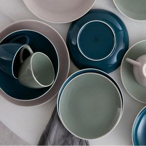Noah 4 x Tassen, Blau und Grau