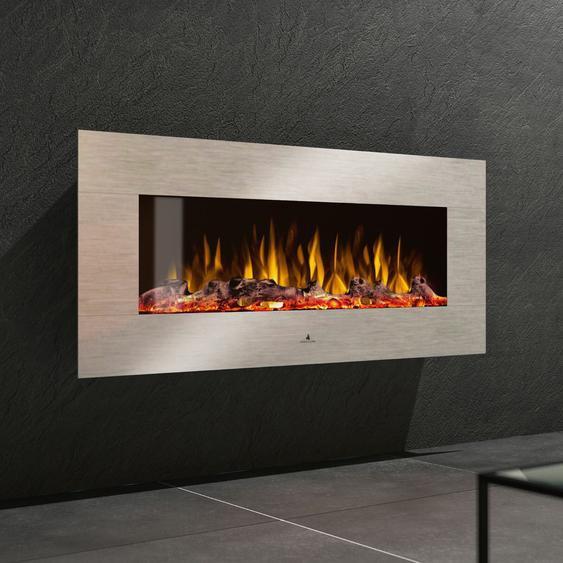 Noble Flame Vegas 1530 Edelstahl - Elektrokamin Wandkamin Kamino