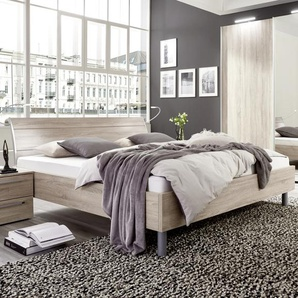 Nolte Möbel Bett, Eiche, Holzoptik 180 x 200 cm