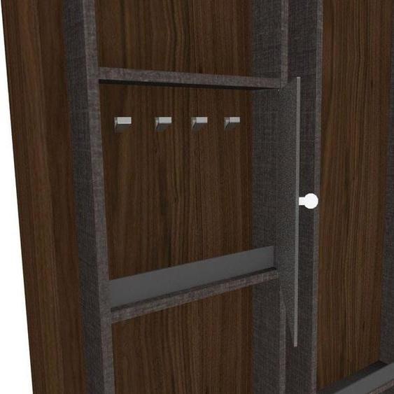 nolte Möbel Inneneinteilung concept me Zubehör für Koffertüren 36x8,5x37 cm silberfarben Kleiderschränke Schrankinneneinteiler