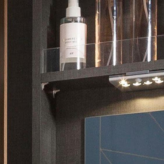 nolte Möbel,LED Einbauleuchte 9763100 Einheitsgröße weiß Zubehör für Kleiderschränke Möbel Lampen