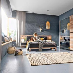 Nolte Möbel Schlafzimmer-Set, Kiefer, Holzoptik