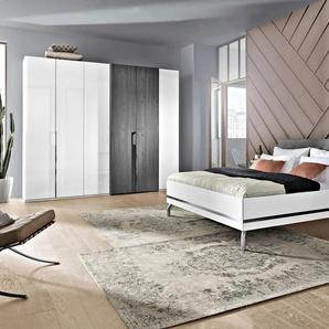 Nolte Möbel Schlafzimmer-Set, Weiß, Lack / Hochglanz