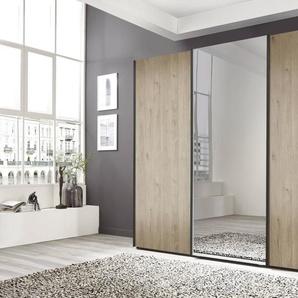 Nolte Möbel Schwebetürenschrank, Eiche, Holzoptik 270 x 223 cm