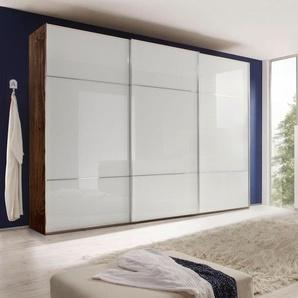 nolte® Möbel Schwebetürenschrank »Marcato 3« mit Fronten aus Weißglas, Breite 300 cm