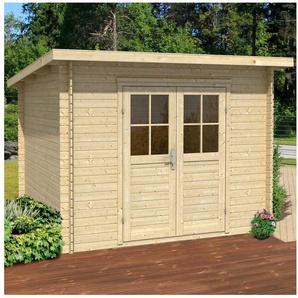 Nordic Holz Gartenhaus »Genua«, BxT: 272x242 cm