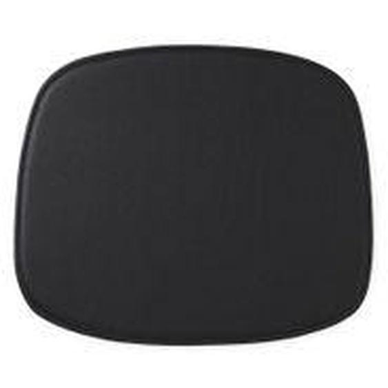 Normann Copenhagen - Sitzkissen zum Form Stuhl, Leder schwarz