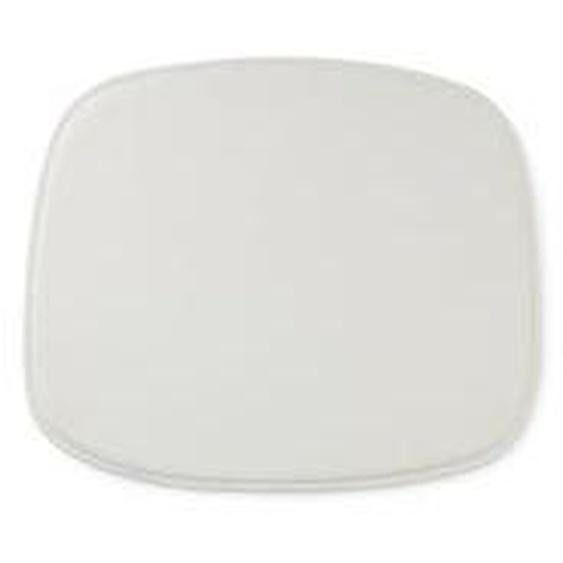 Normann Copenhagen - Sitzkissen zum Form Stuhl, Leder weiß