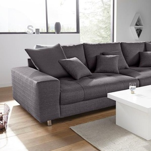 Big-Sofa, grau, 300cm, FSC®-zertifiziert, Nova Via