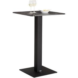 Novel: Tisch, Schwarz, B/H/T 70 105 70