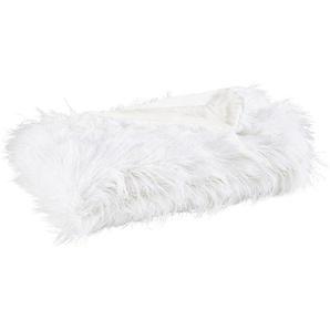 FELLDECKE 150/200 cm WeißNovel: FELLDECKE 150/200 cm Weiß