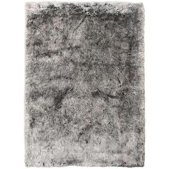 Novel Fellteppich 80/150 cm Grau, Grau , Textil , Uni , 80 cm