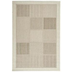 FLACHWEBETEPPICH 160/230 cm Weiß