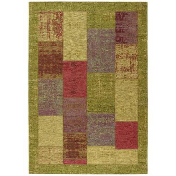 Novel Flachwebeteppich 200/290 cm Mehrfarbig , Mehrfarbig , Textil , Patchwork , 200 cm