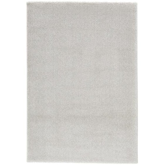 Novel Hochflorteppich 140/200 cm gewebt Beige , Textil , Uni , 140x200 cm