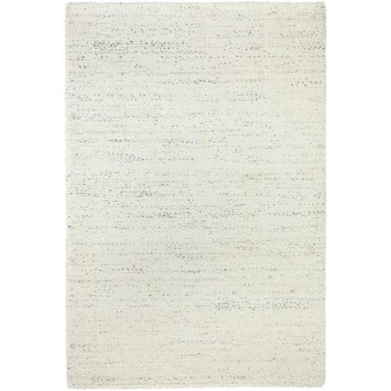 Novel Hochflorteppich 200/290 cm Beige , Textil , Uni , 200 cm