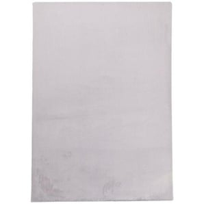 HOCHFLORTEPPICH 160/230 cm gewebt SilberfarbenNovel: HOCHFLORTEPPICH 160/230 cm gewebt Silberfarben
