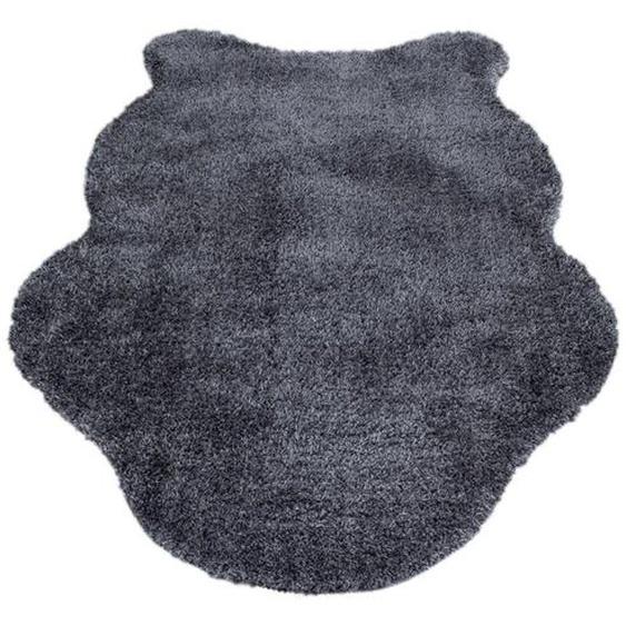 Novel Kunstfell 100/150 cm Grau , Textil, Fell , 100 cm