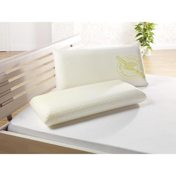 Novel Nackenkissen 40/80 cm , Weiß , Textil , 40 cm