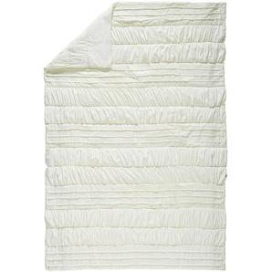 Novel Tagesdecke , Weiß , Textil , Uni , 170x260 cm