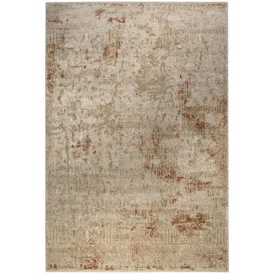 Novel Vintage-Teppich 120/170 cm Beige, Mehrfarbig , Sand, Beige, Rost , Textil , Vintage , 120 cm
