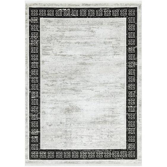Novel Vintage-Teppich 120/170 cm Weiß , Textil , Vintage , 120x170 cm