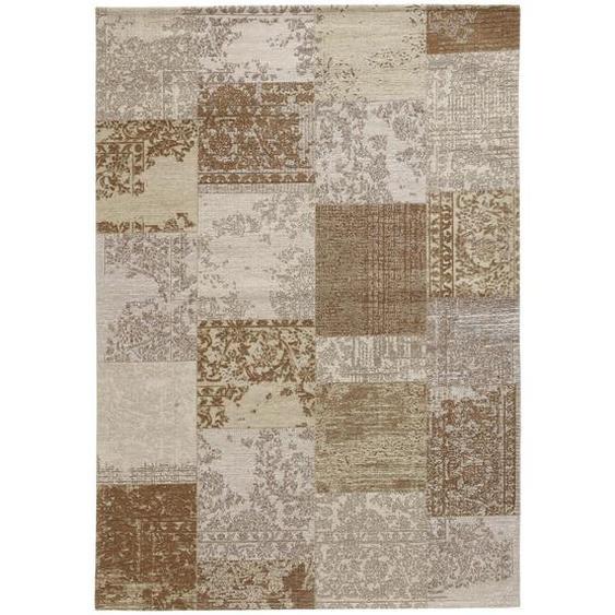 Novel Vintage-Teppich 140/190 cm Beige , Textil , Vintage , 140 cm