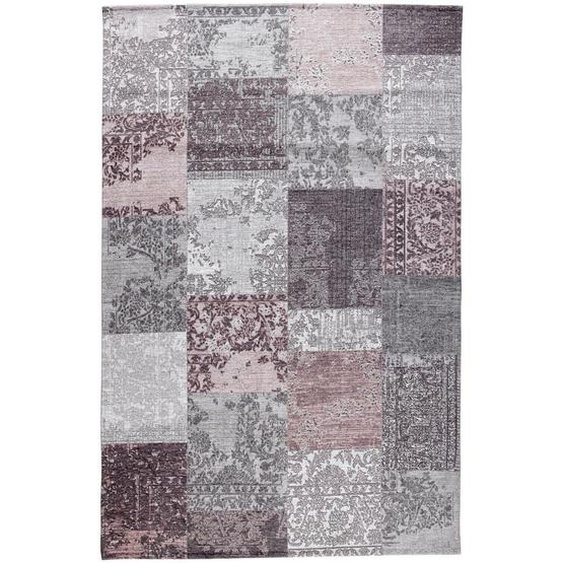 Novel Vintage-Teppich 140/190 cm Rosa , Textil , Vintage , 140 cm