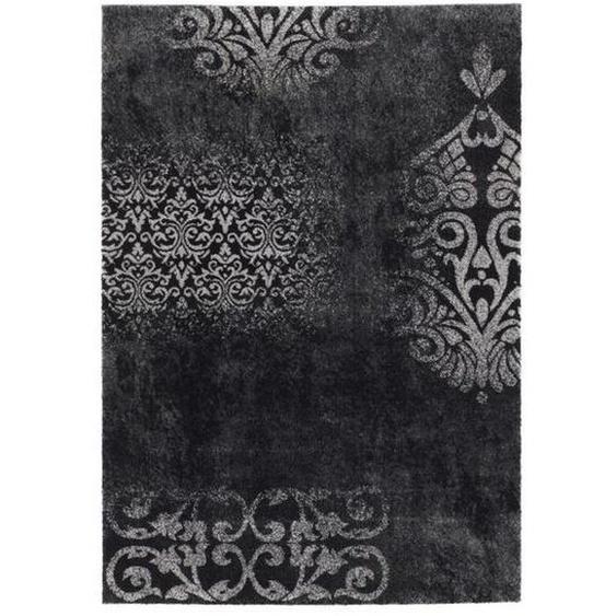 Novel Vintage-Teppich 160/230 cm Grau , Textil , Ornament , 160x230 cm