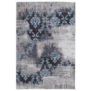 FLACHWEBETEPPICH 170/240 cm Blau, Grau