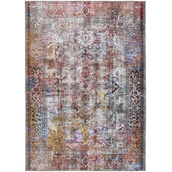 Novel Vintage-Teppich 190/290 cm Mehrfarbig , Textil , Abstraktes , 190x290 cm