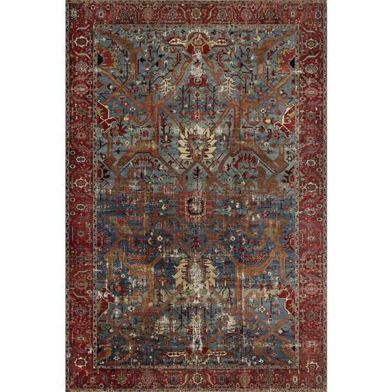 Novel Vintage-Teppich 190/290 cm Rot , Textil , Abstraktes , 190x290 cm