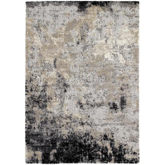 Novel Vintage-Teppich 200/290 cm Grau , Textil , Abstraktes , 200 cm