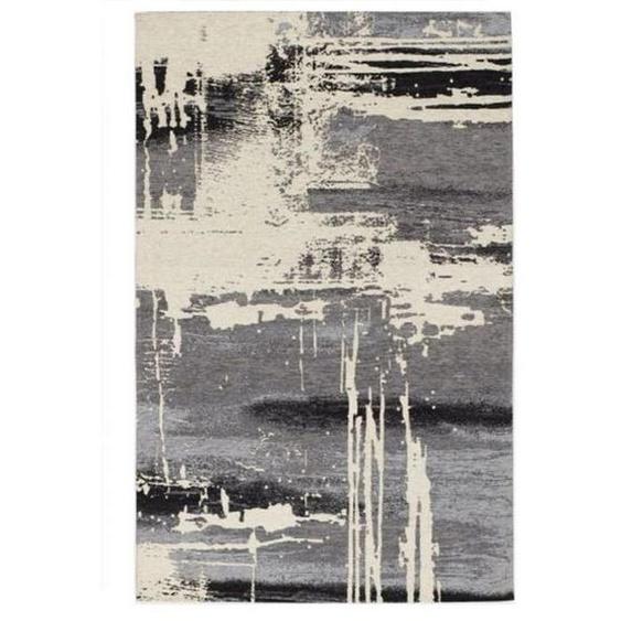 Novel Vintage-Teppich 200/300 cm Grau , Textil , Abstraktes , 200x300 cm