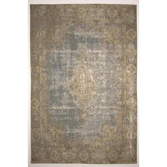 Novel Vintage-Teppich 240/290 cm Blau , Textil , Abstraktes , 240 cm