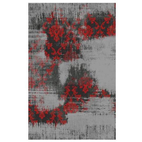 Novel Vintage-Teppich 250/300 cm Rot , Textil , Abstraktes , 250x300 cm
