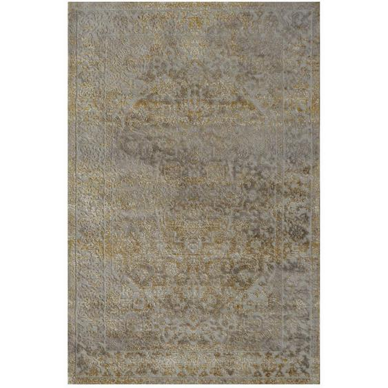Novel Vintage-Teppich 80/150 cm Grau , Textil , Abstraktes , 80x150 cm