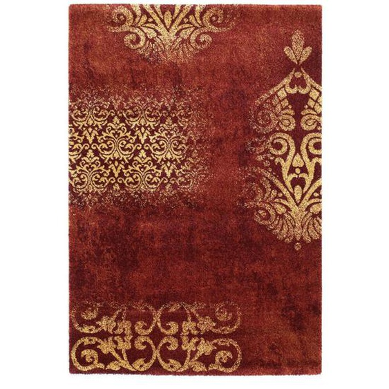 Novel Vintage-Teppich 80/150 cm Orange , Textil , Graphik , 80x150 cm