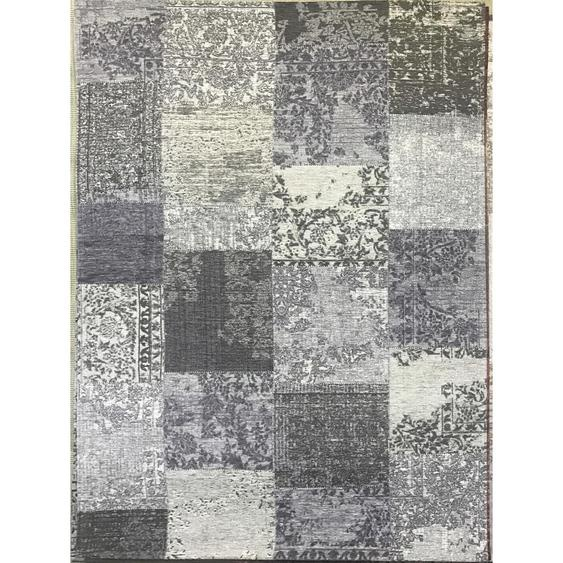 Novel Vintage-Teppich Grau , Textil , Patchwork