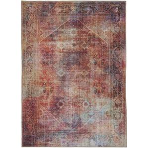 VINTAGE-TEPPICH 190/290 cm Multicolor