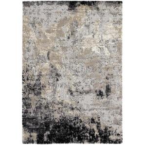 Novel Vintage-Teppich Juwel Awara , Hellgrau , Textil , Abstraktes , rechteckig , 200 cm , Teppiche & Böden, Teppiche, Vintage-Teppiche