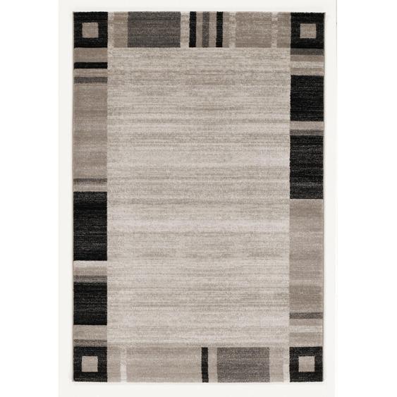 Novel Webteppich 160/230 cm Beige, Beige , Textil , Graphik , 160 cm
