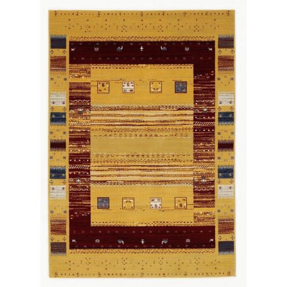 Novel Webteppich 200/290 cm Beige , Textil , Ornament , 200 cm