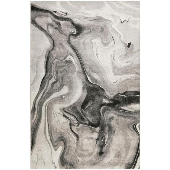 Novel Webteppich 200/290 cm Grau, Grau , Textil , Abstraktes , 200 cm