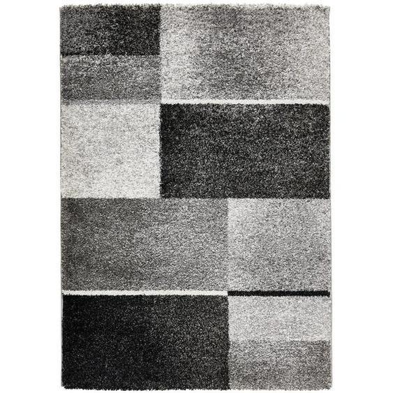 Novel Webteppich 200/290 cm Grau , Textil , Abstraktes , 200 cm
