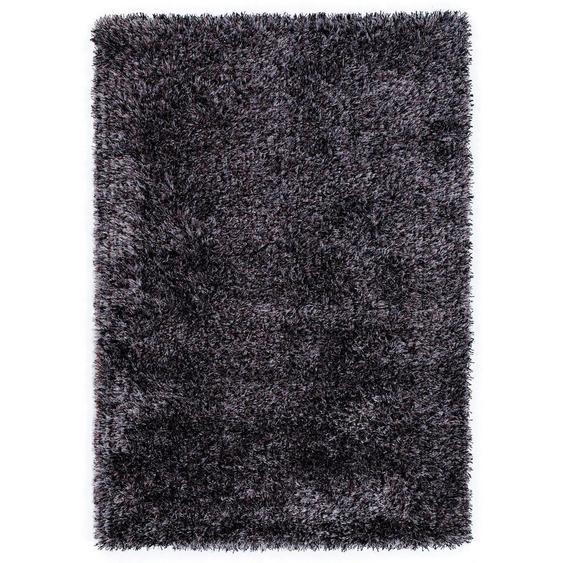 Novel Webteppich 200/290 cm Weiß , Textil , Uni , 200 cm