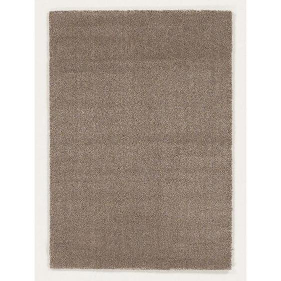 Novel Webteppich 240/290 cm Beige, Beige , Textil , Uni , 240 cm
