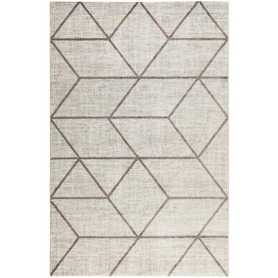 Novel Webteppich 240/290 cm Braun, Beige , Textil , Graphik , 240 cm